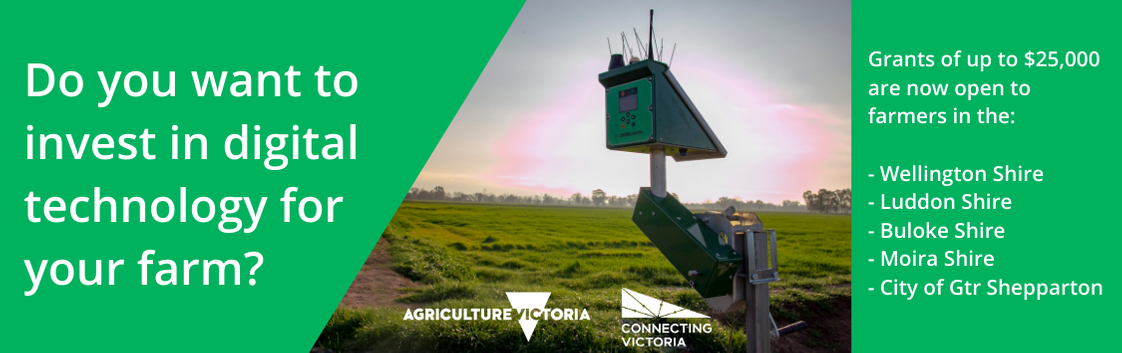 Do you want to invest in digital technology for your farm